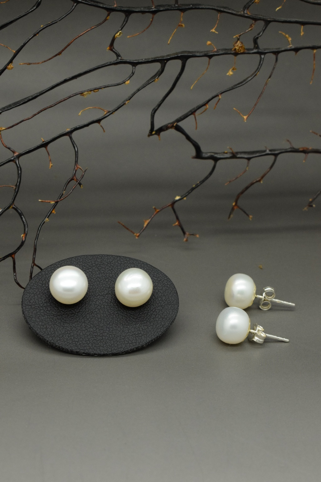Orecchini di perle di fiume 2 a misura