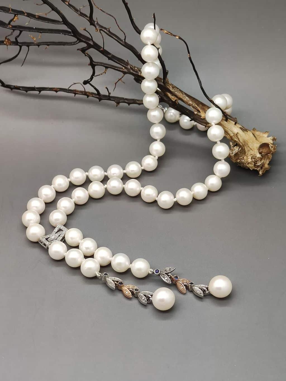 Collana-perle-unica-modello-Savoia